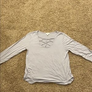 Charlotte Russe long sleeved shirt